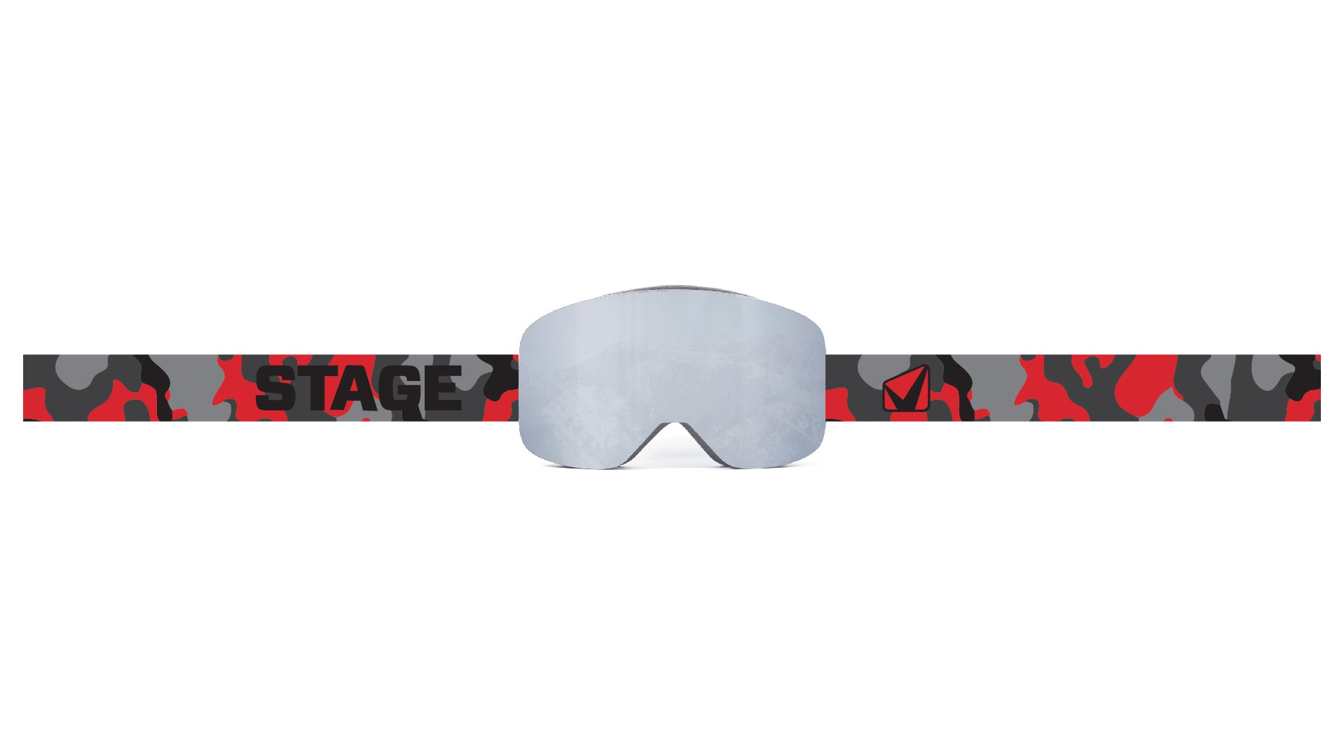 STAGE Prop Frameless Goggle - Smoke