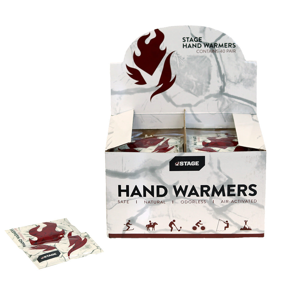 STAGE Hand Warmers BOX - 40 pair