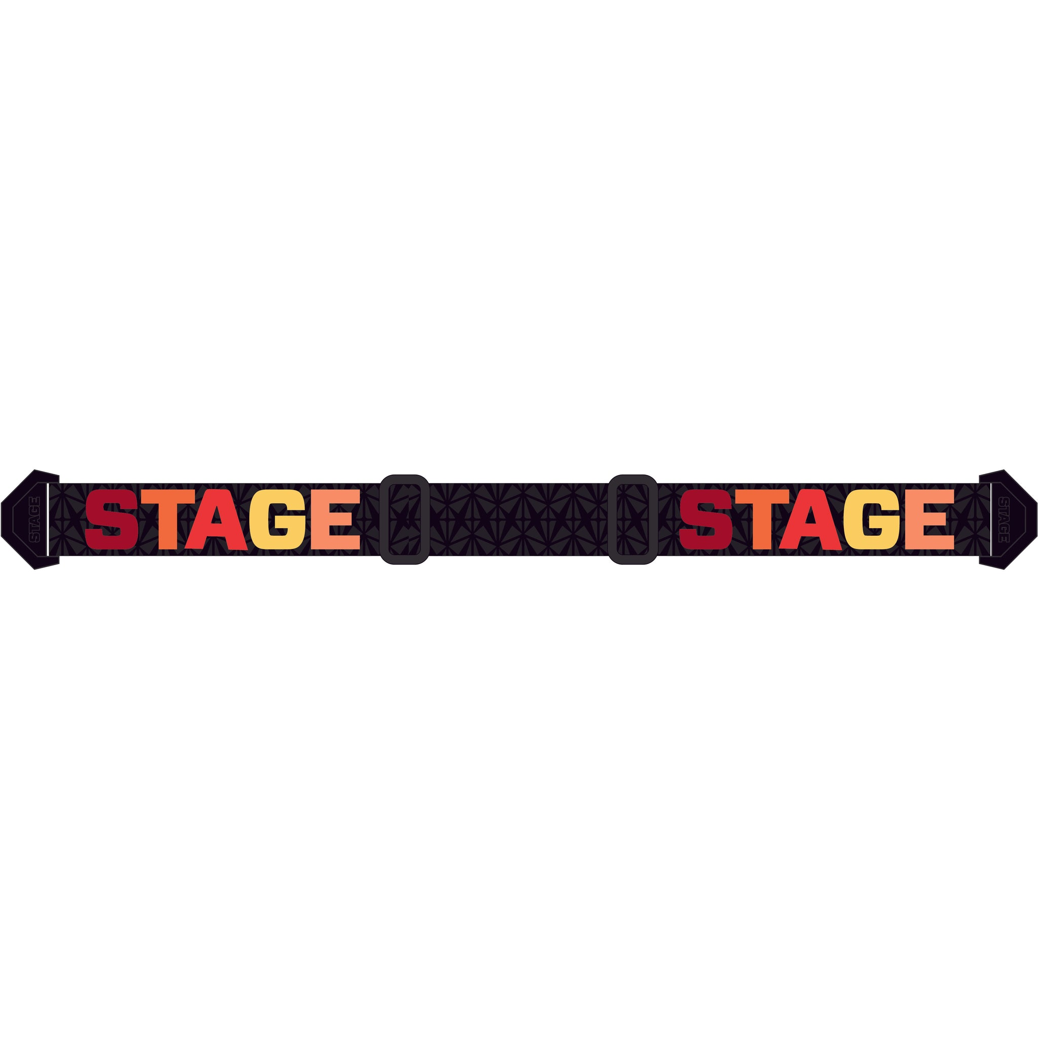 Stage Black and Hot Strap