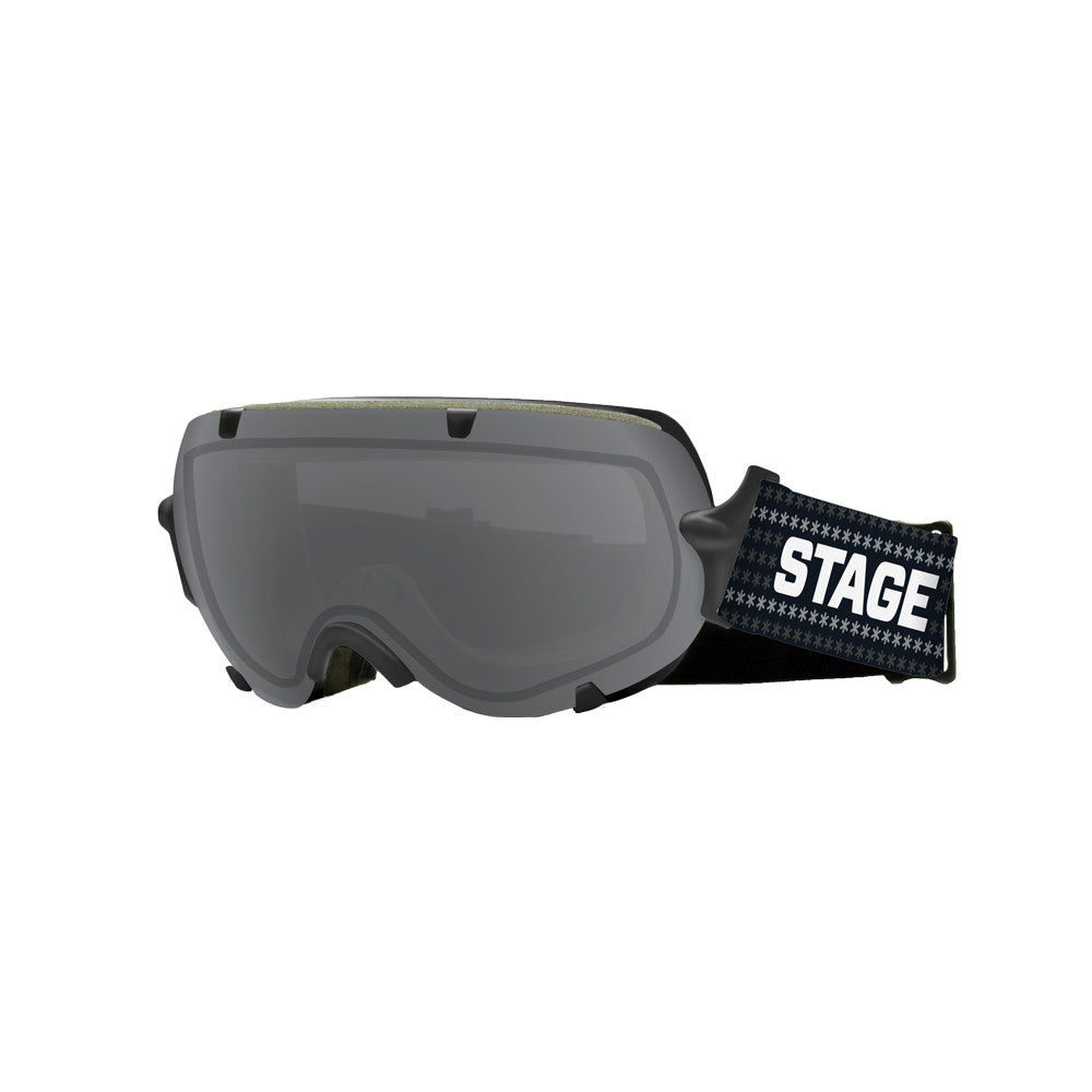 STAGE Youth Stunt BASIC Goggle - Black