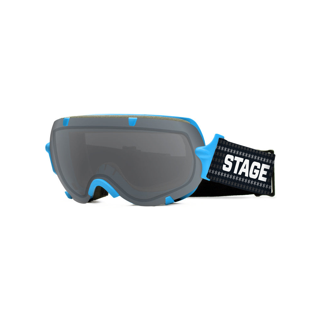 STAGE Youth Stunt BASIC Goggle - Blue