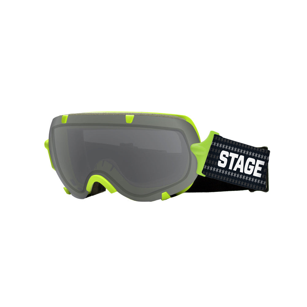 STAGE Youth Stunt BASIC Goggle - Green