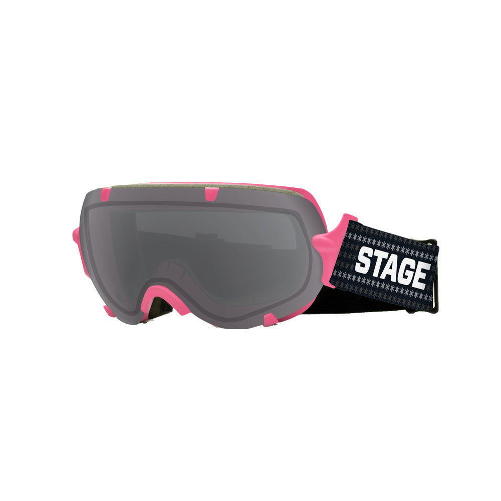 STAGE Youth Stunt BASIC Goggle - Pink