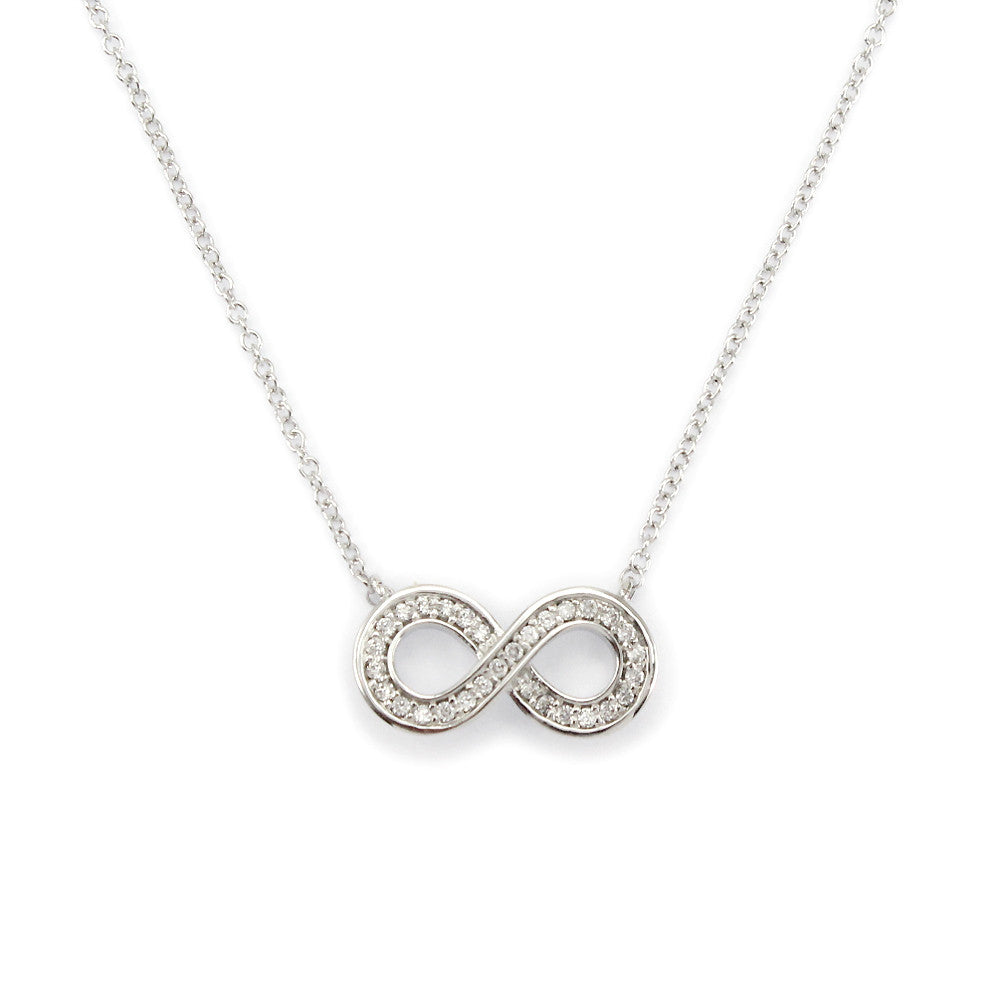 Perfect Gift for Friends Infinity Link Pendant Necklace Message Card Included