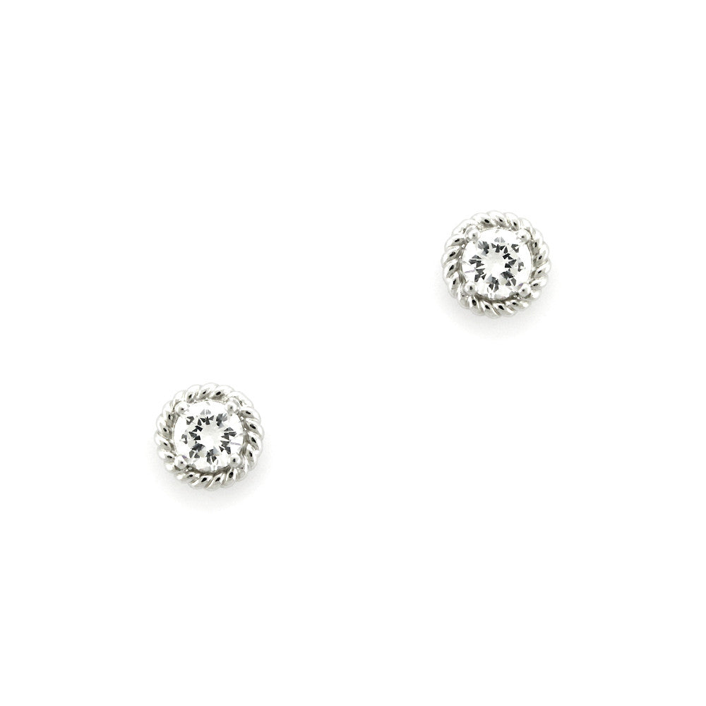Perfect Gift for anyone Large Solitaire Stud Earrings Message Card Included