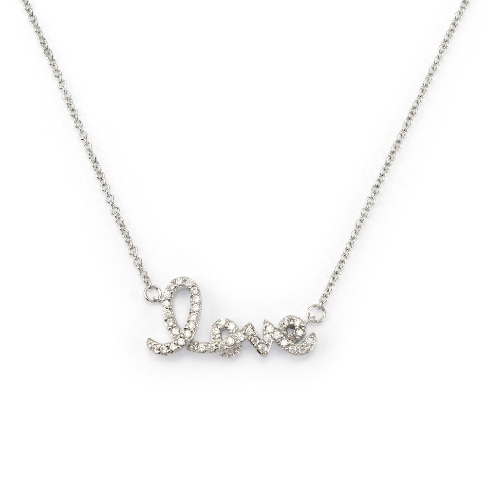 Perfect Gift for Loved One Love Pendant Necklace Message Card Included