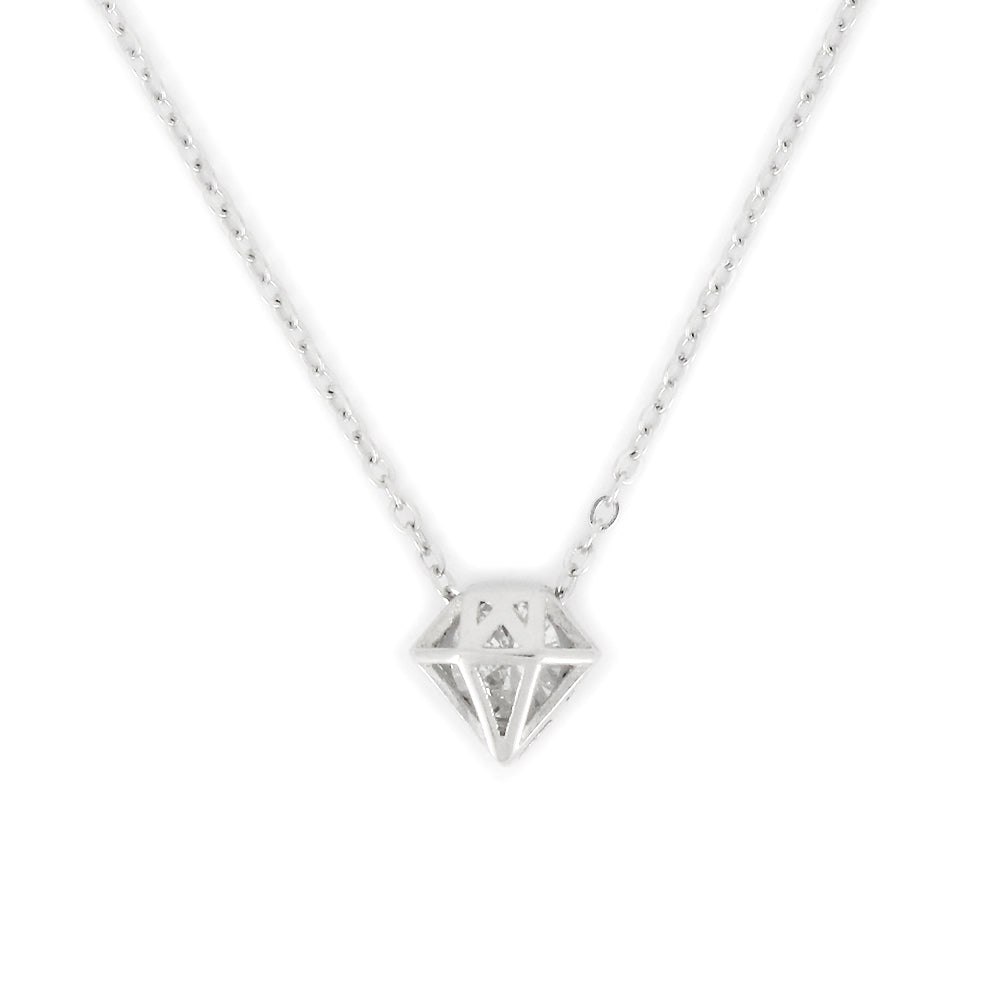 Perfect Gift for birthday Diamond Pendant Necklace Message Card Included