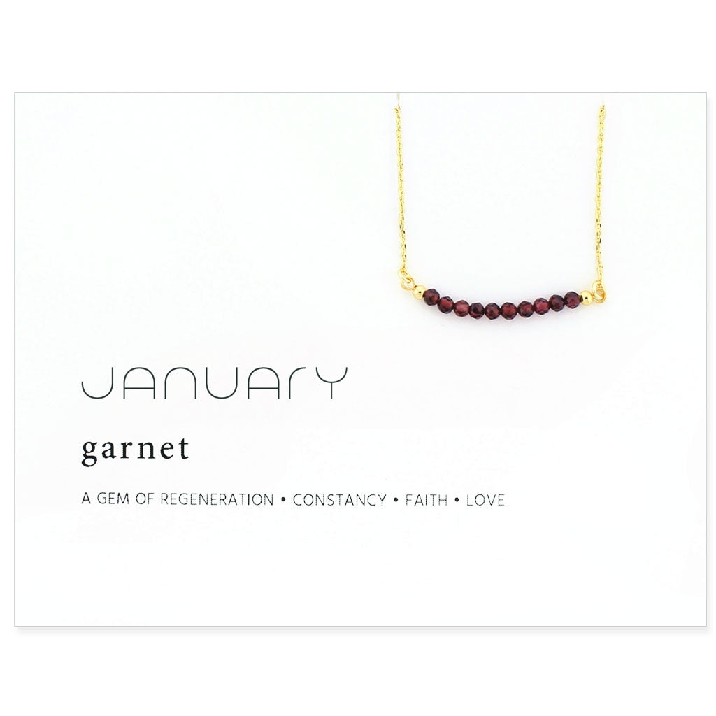 Birthstone Collection [JANUARY - garnet]