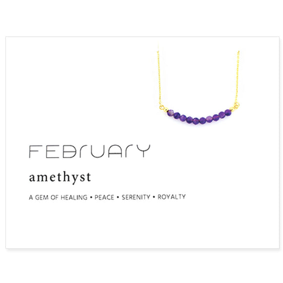 Birthstone Collection [FEBRUARY - amethyst]