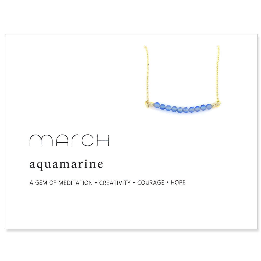 Birthstone Collection [MARCH - aquamarine]