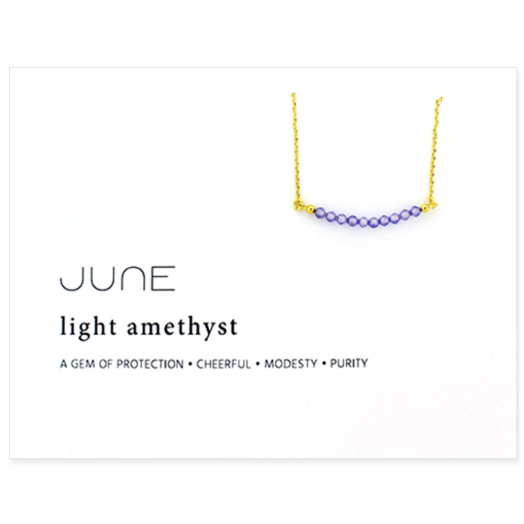 Birthstone Collection [JUNE - light amethyst]