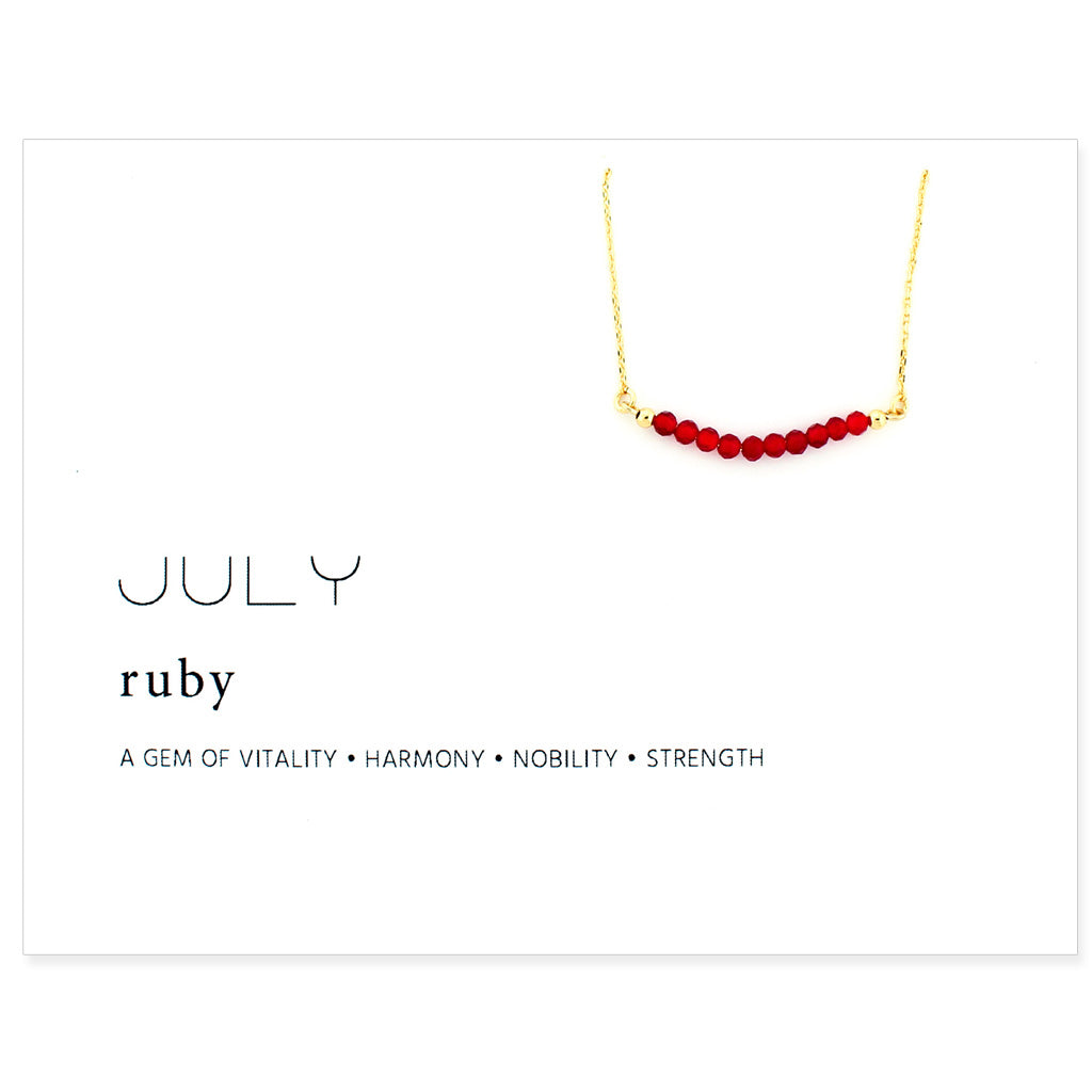 Birthstone Collection [JULY - ruby]