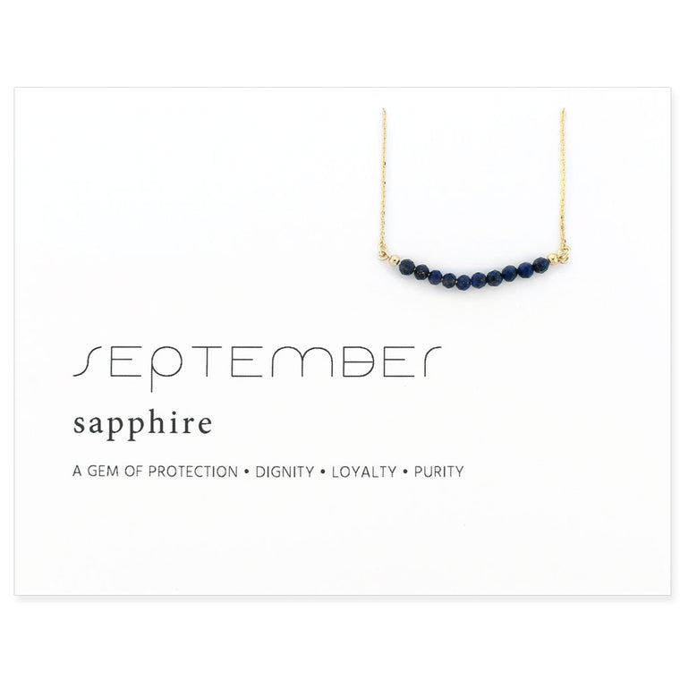 Birthstone Collection [SEPTEMBER - sapphire]