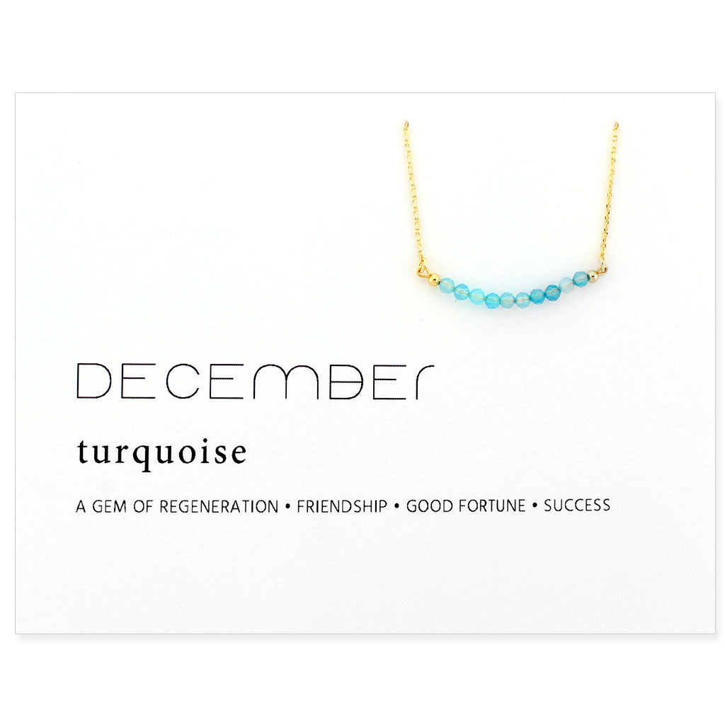 Birthstone Collection [DECEMBER - turquoise]