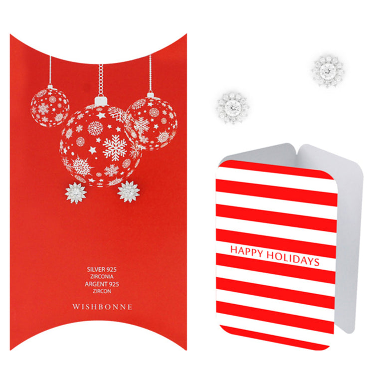 Perfect Gift for FOR Holiday Starburst Earrings Message Card Included