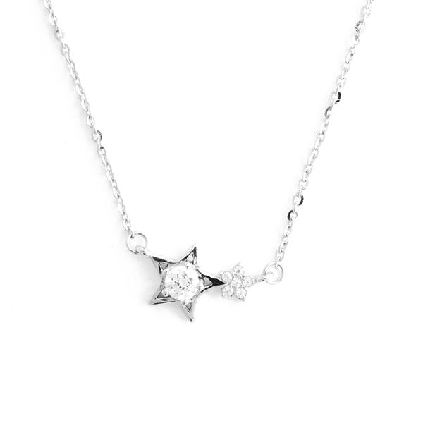 Perfect Gift for Anyone Shining Star Pendant Necklace with Message Card Included