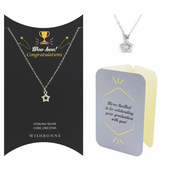 Perfect Gift for anyone All-Star Pendant Necklace Message Card Included