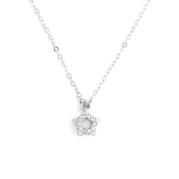 Sterling Silver All-Star Pendant Necklace
