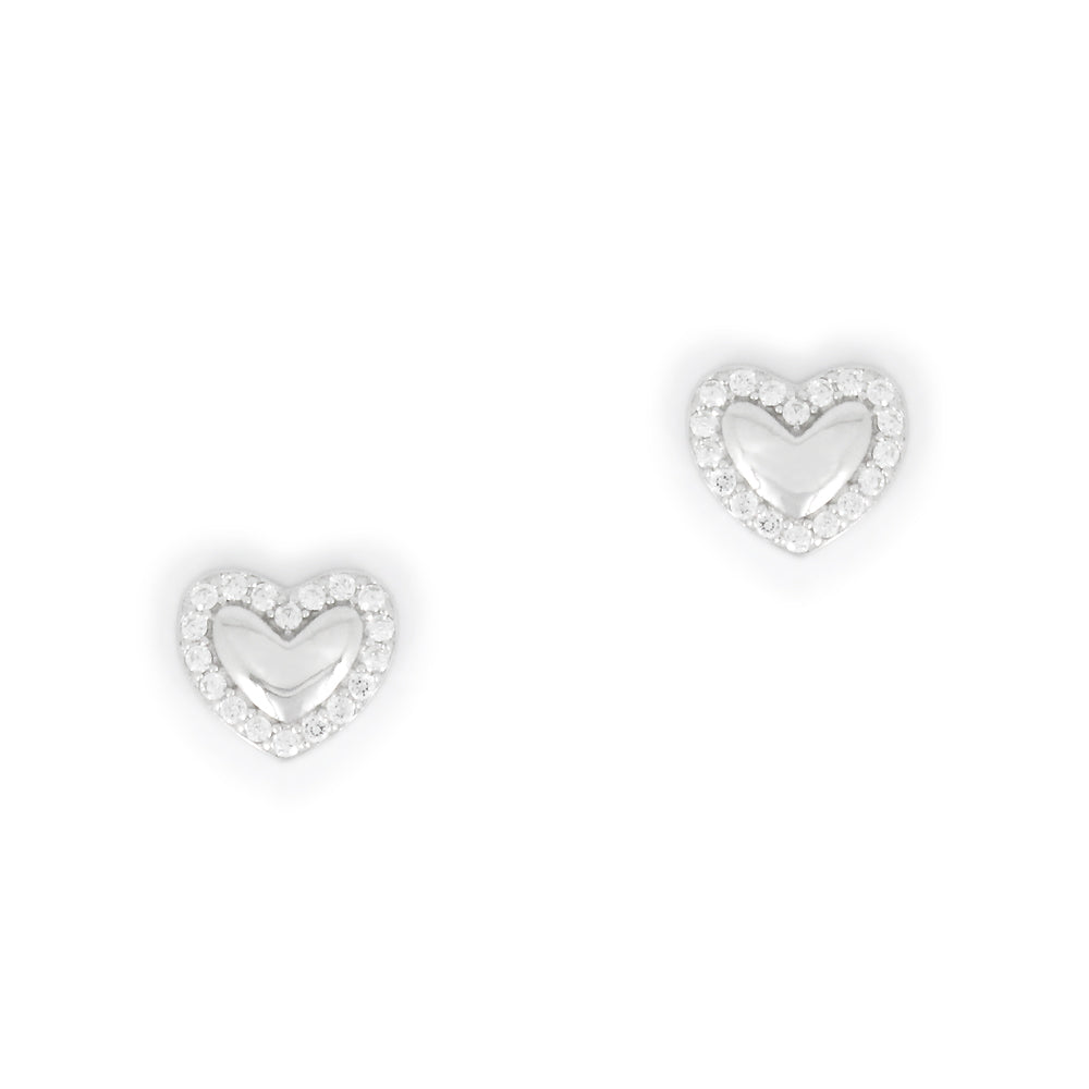 Perfect Gift for Valentine's Heart Earrings Message Card Included