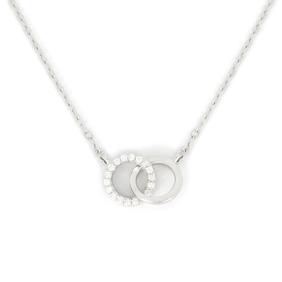 Sterling Silver Double Link Necklace