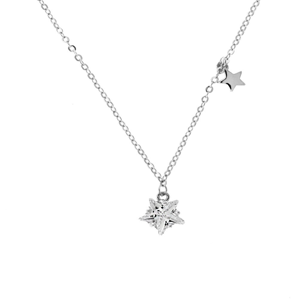 Perfect Gift for Anyone Bright Star Pendant Necklace Message Card Included