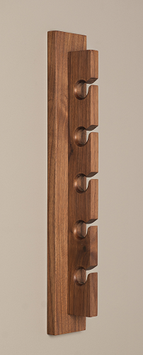 Handcrafted Hat Rack - Walnut
