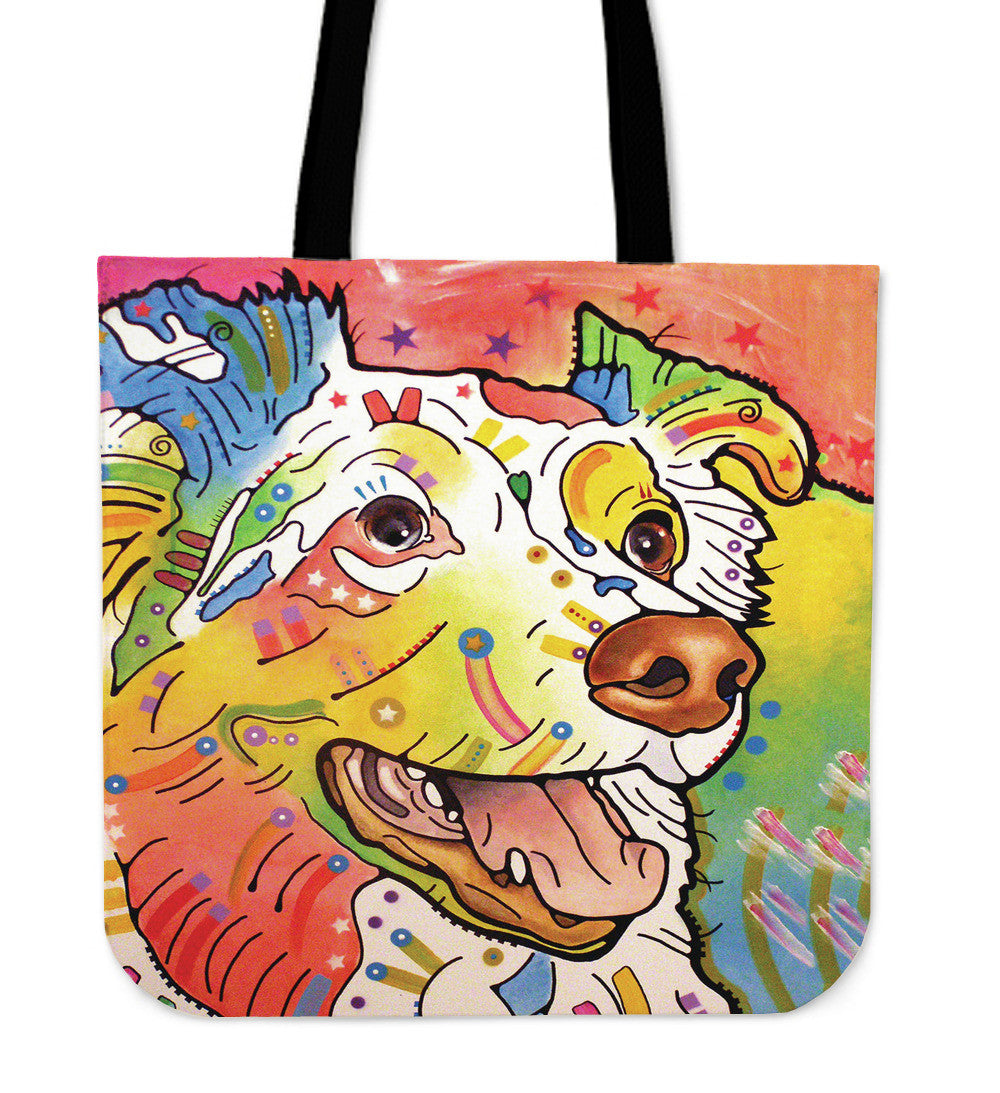 English Shepherd Tote Bags