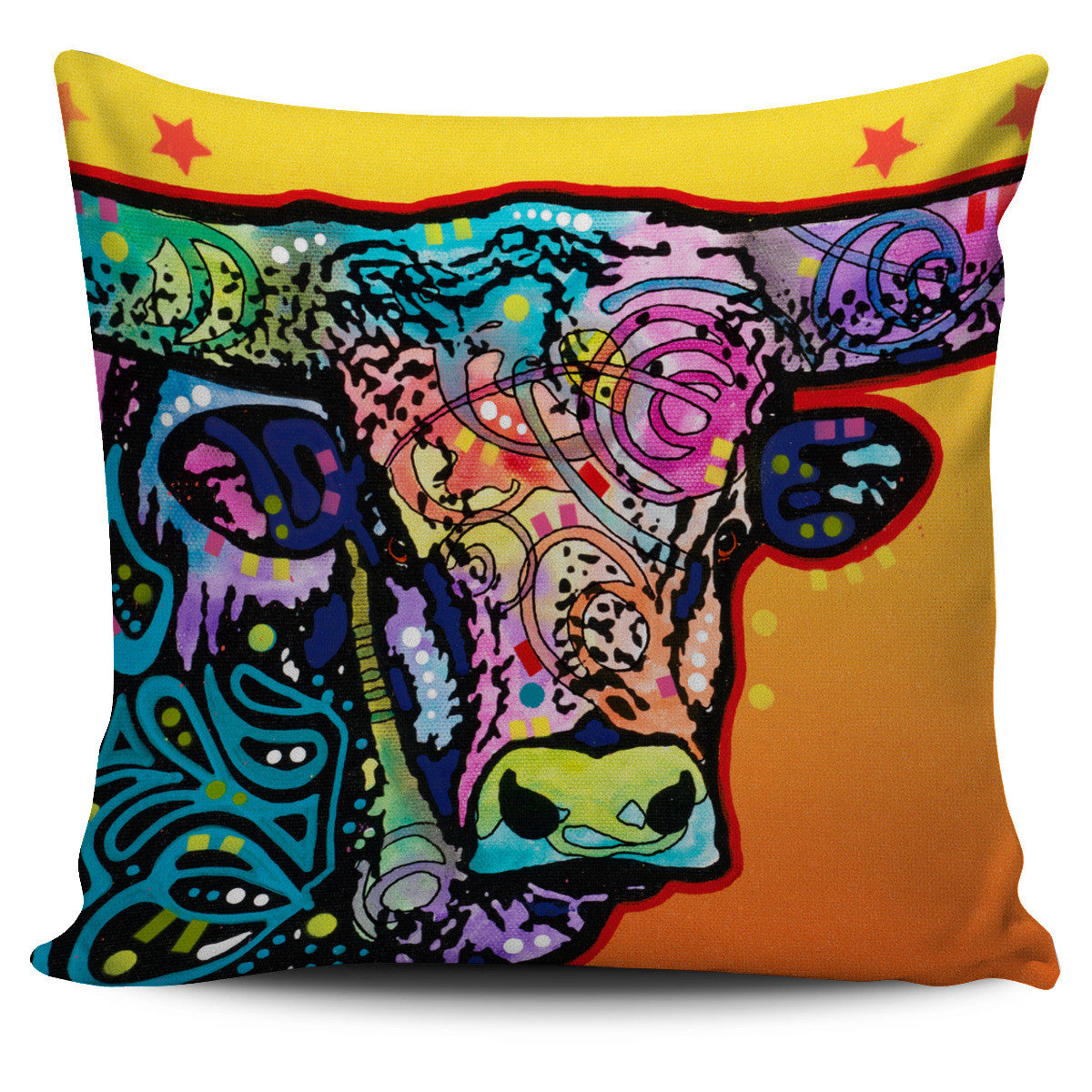Bull Series Pillow Covers