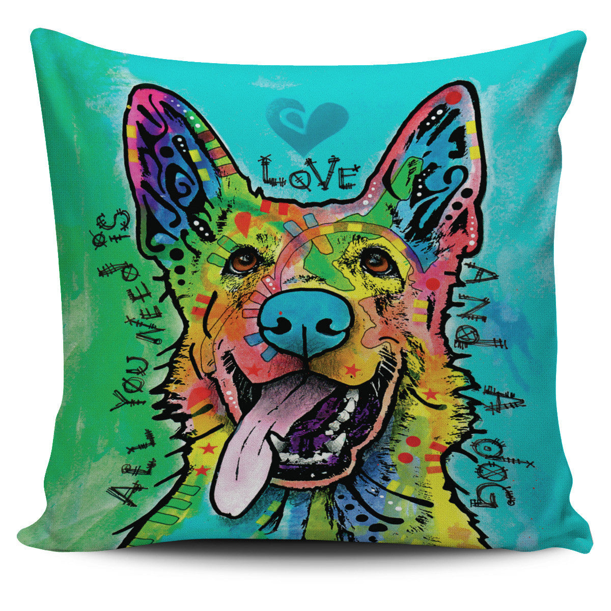 German Shepherd Series Pillow Covers Offer