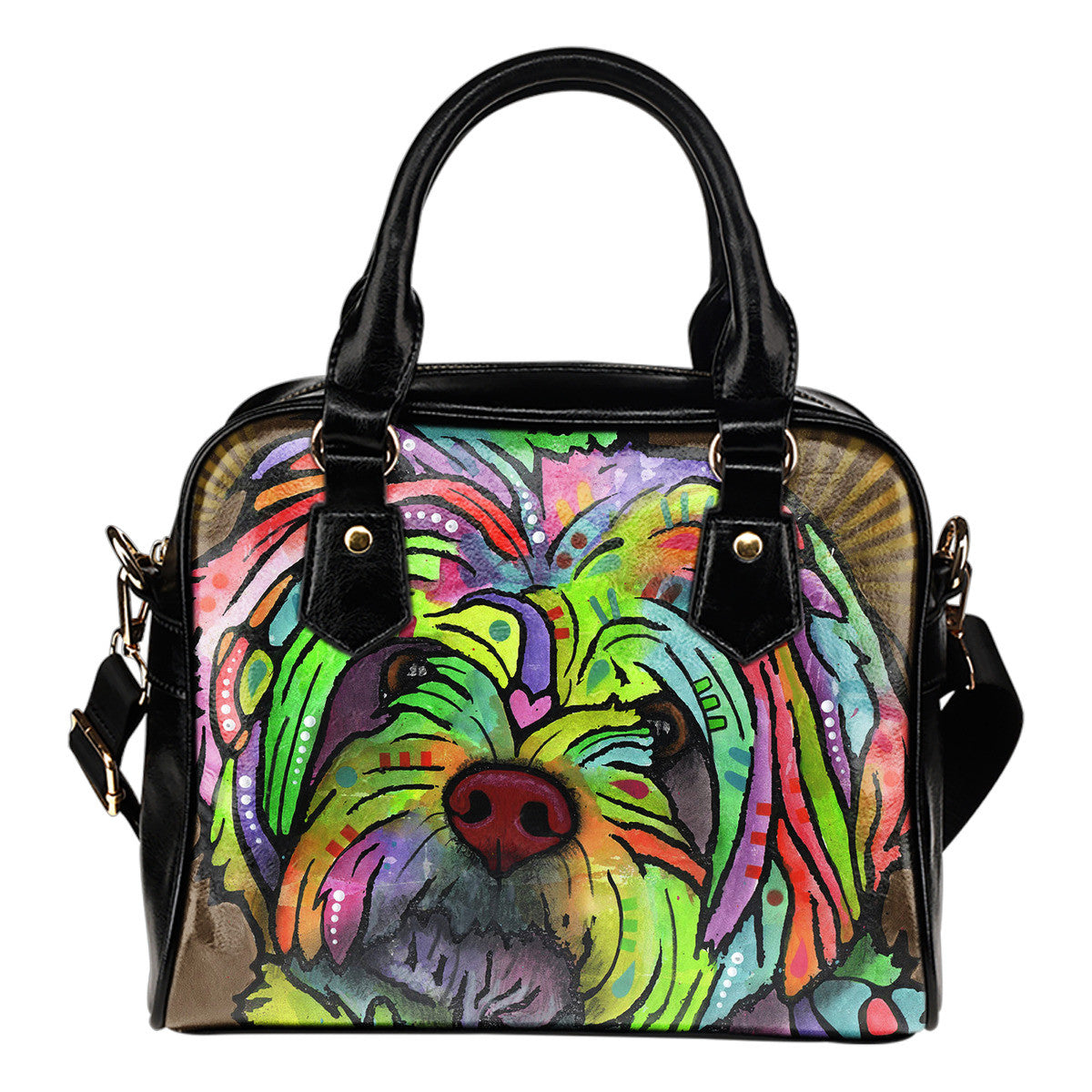 Pekingese Shoulder Handbags