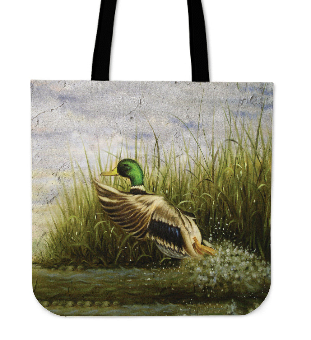 Waterfowl Series Tote Bags