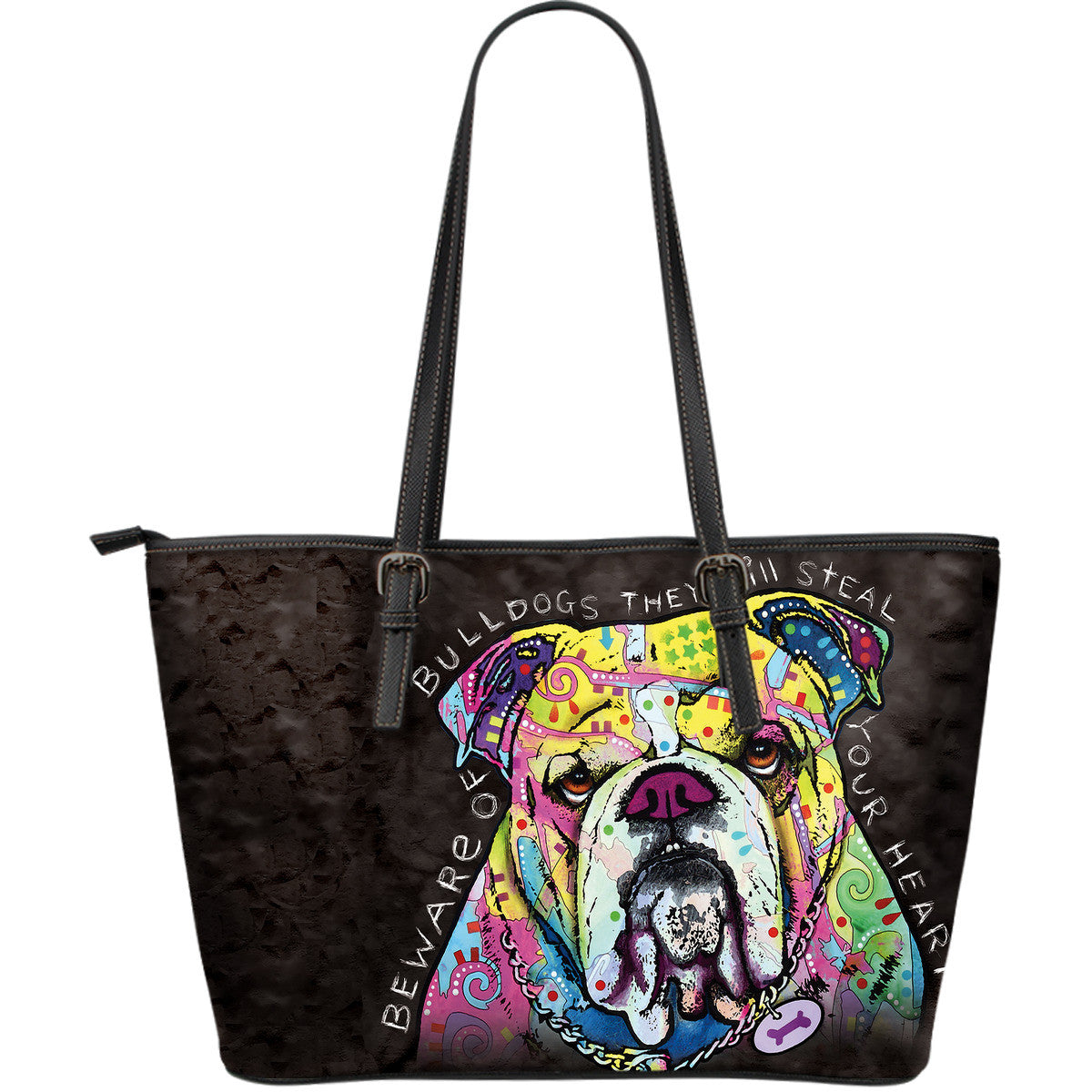 Bulldog Leather Totes (Large)