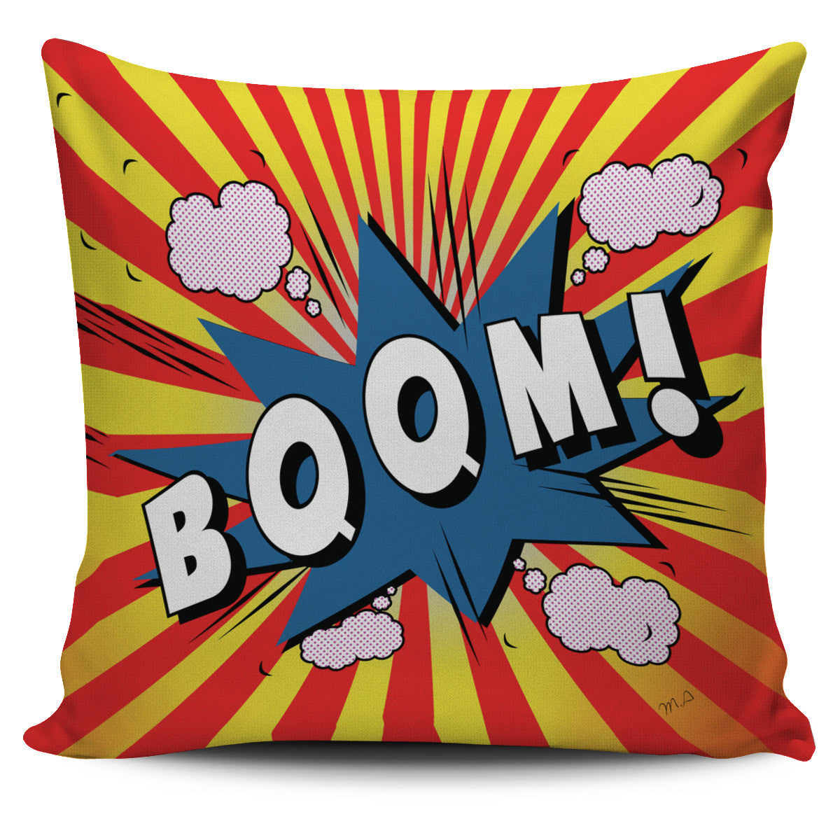 Boom Pillow Covers