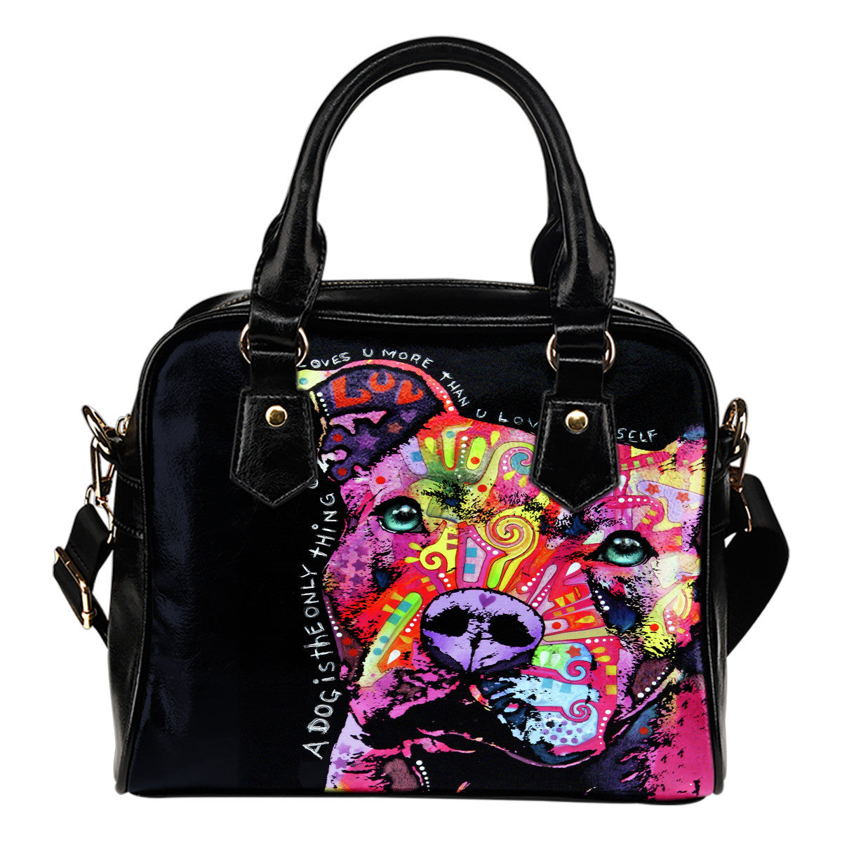 Pit Bull Series III Shoulder Handbags
