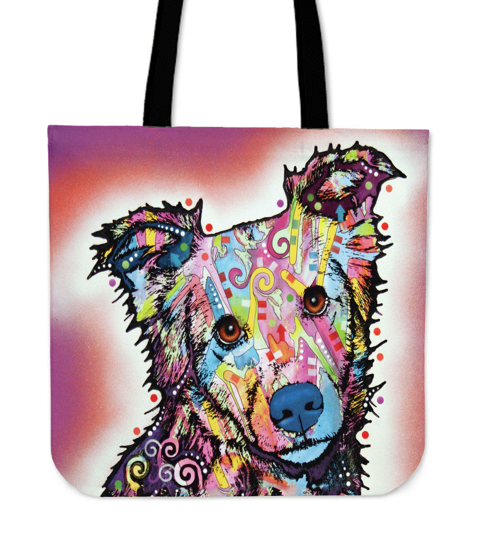 Collie Shepherd Tote Bags