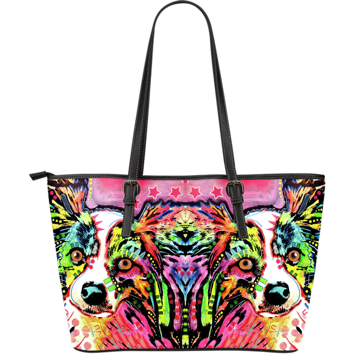 Papillon Leather Tote Bags (Large)