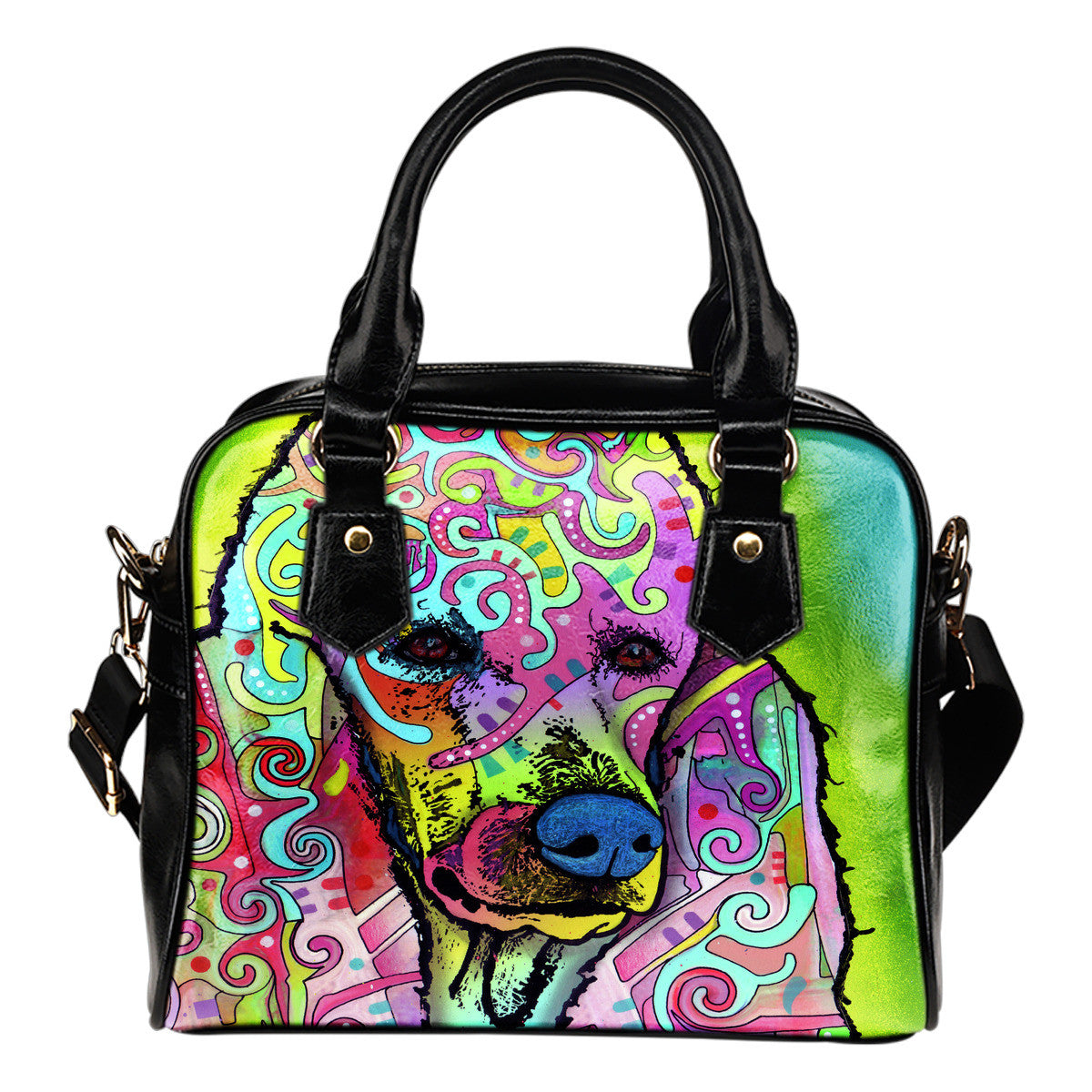 Poodle Shoulder Handbags