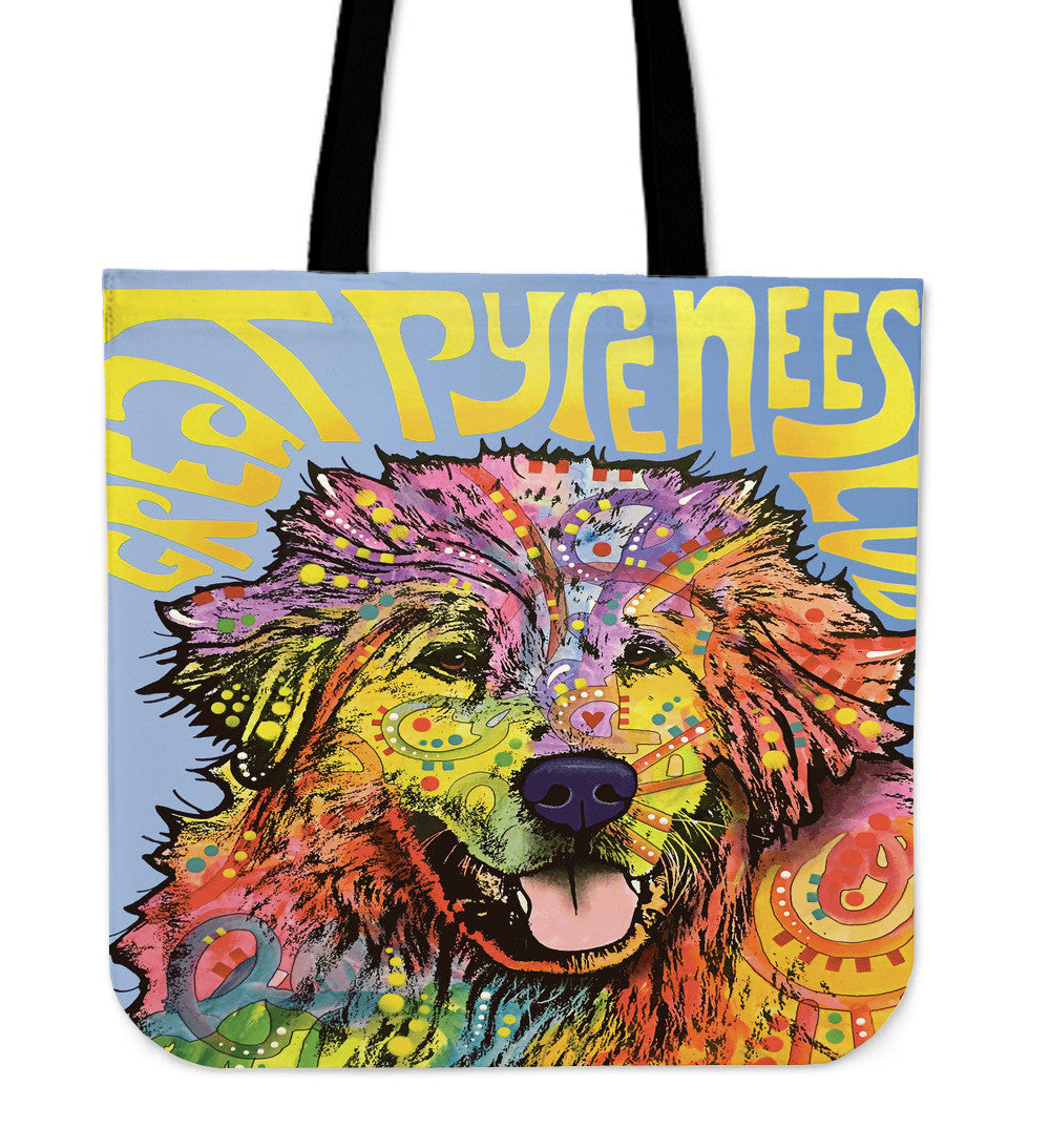 Great Pyrenees Tote Bags