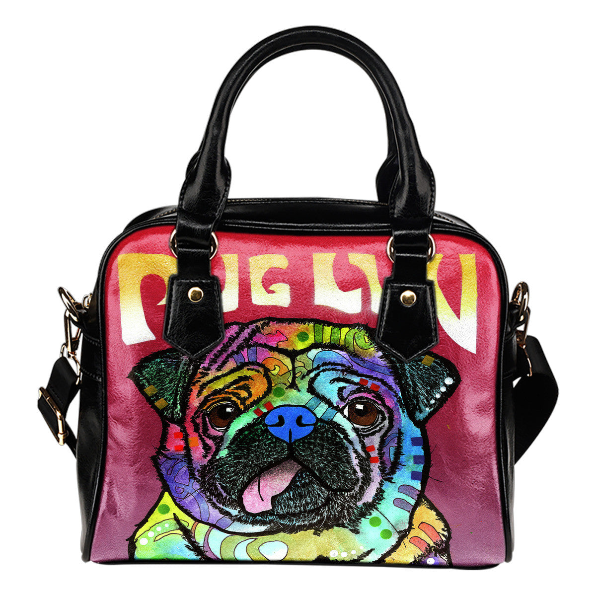 Pug Series Shoulder Handbags