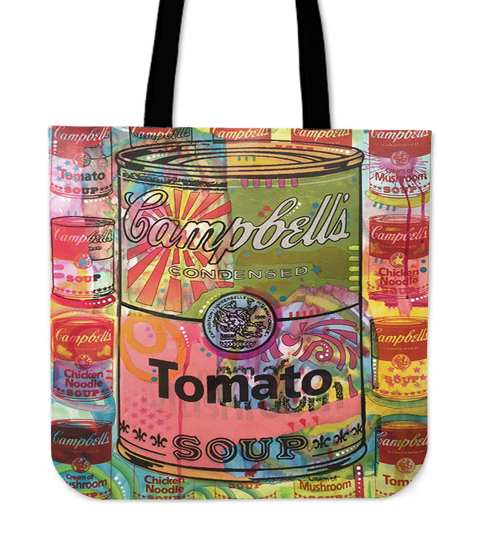 Soup Can Tote Bags