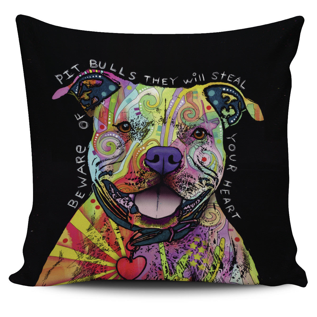 Pit Bull Pillow Covers