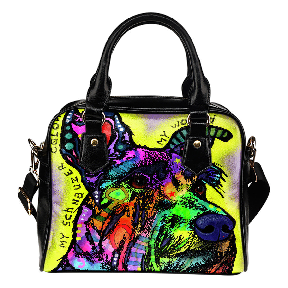 Schnauzer Shoulder Handbags