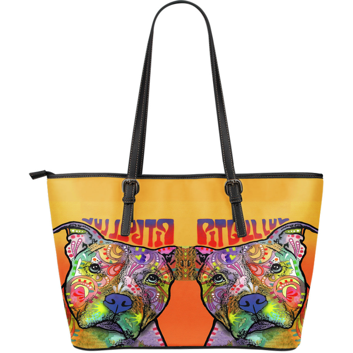 Pit Bull Series II Leather Tote Bag (Large)