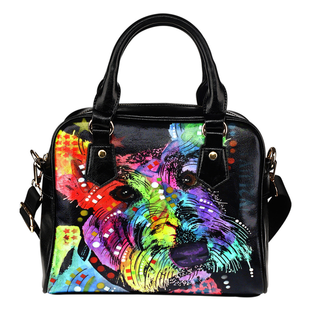 Scottish Terrier Shoulder Handbags