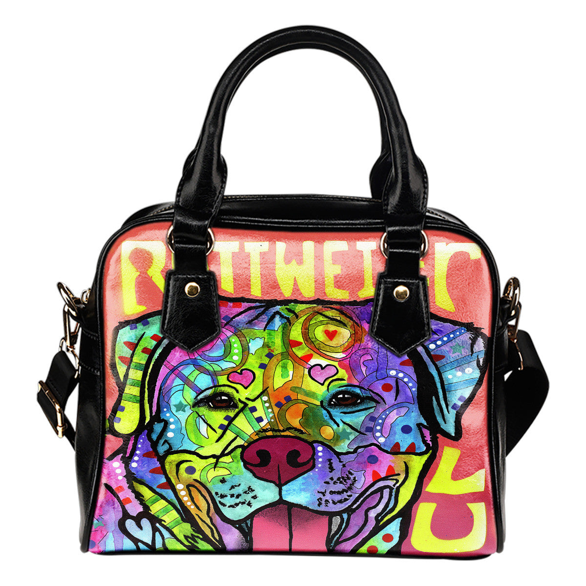 Rottweiler Shoulder Handbags
