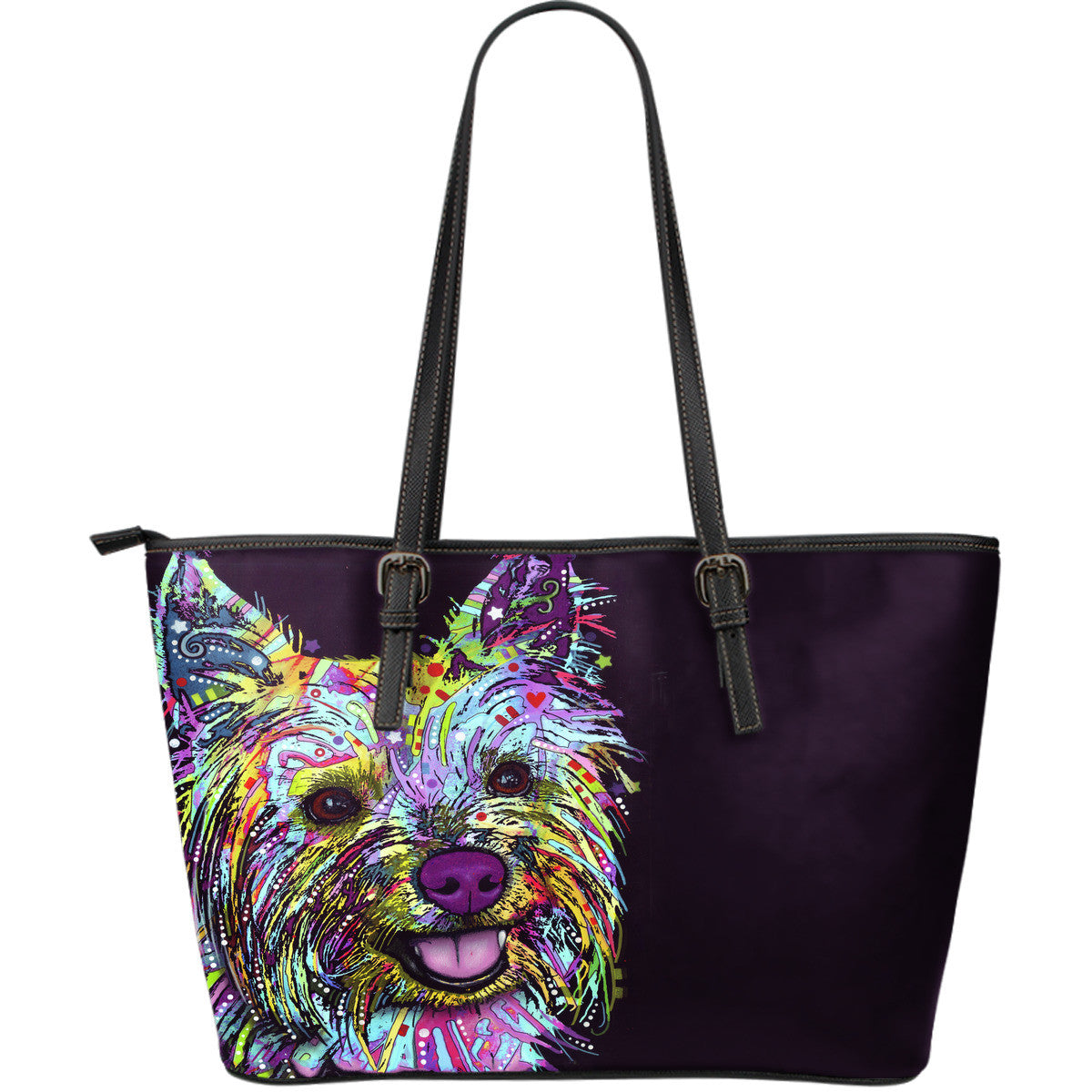 Yorkie Leather Totes (Large)
