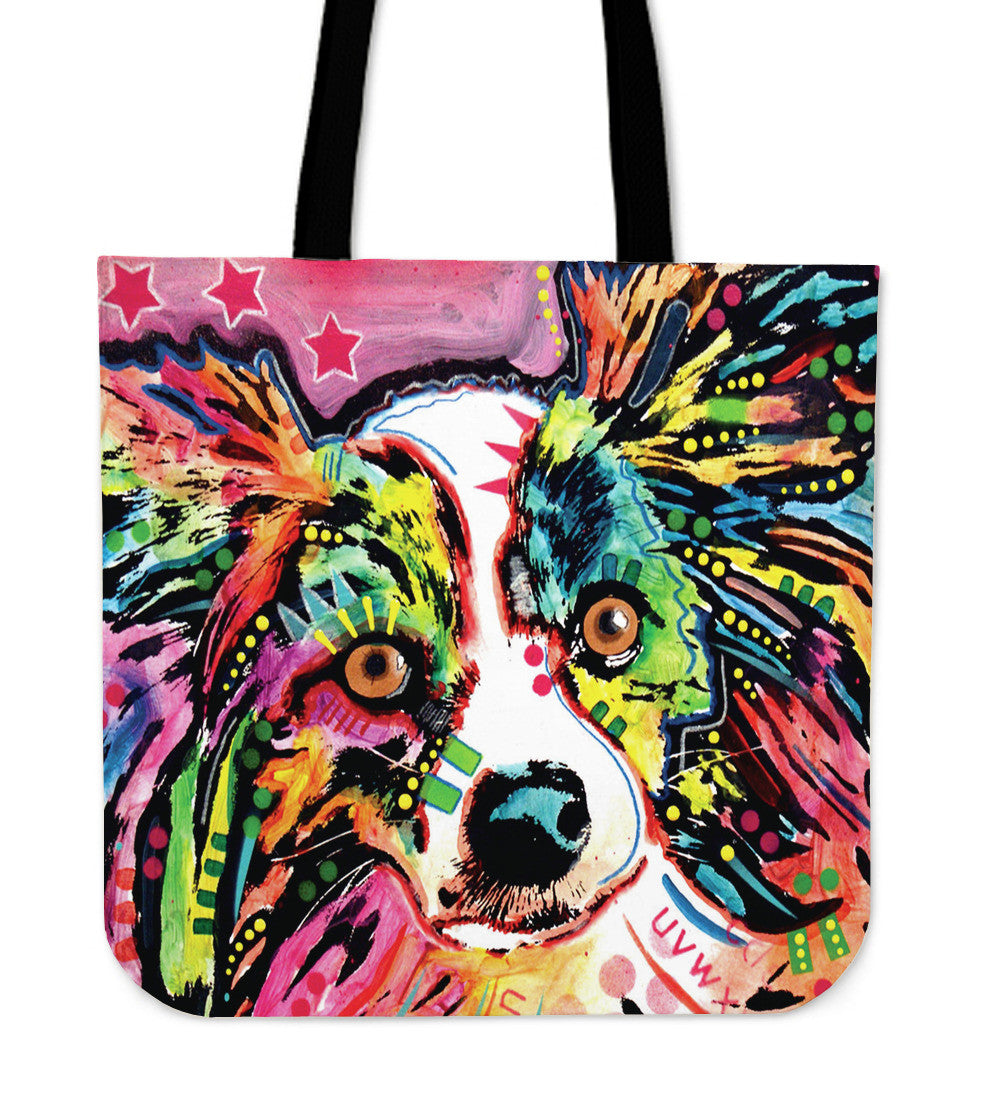 Papillon Tote Bags