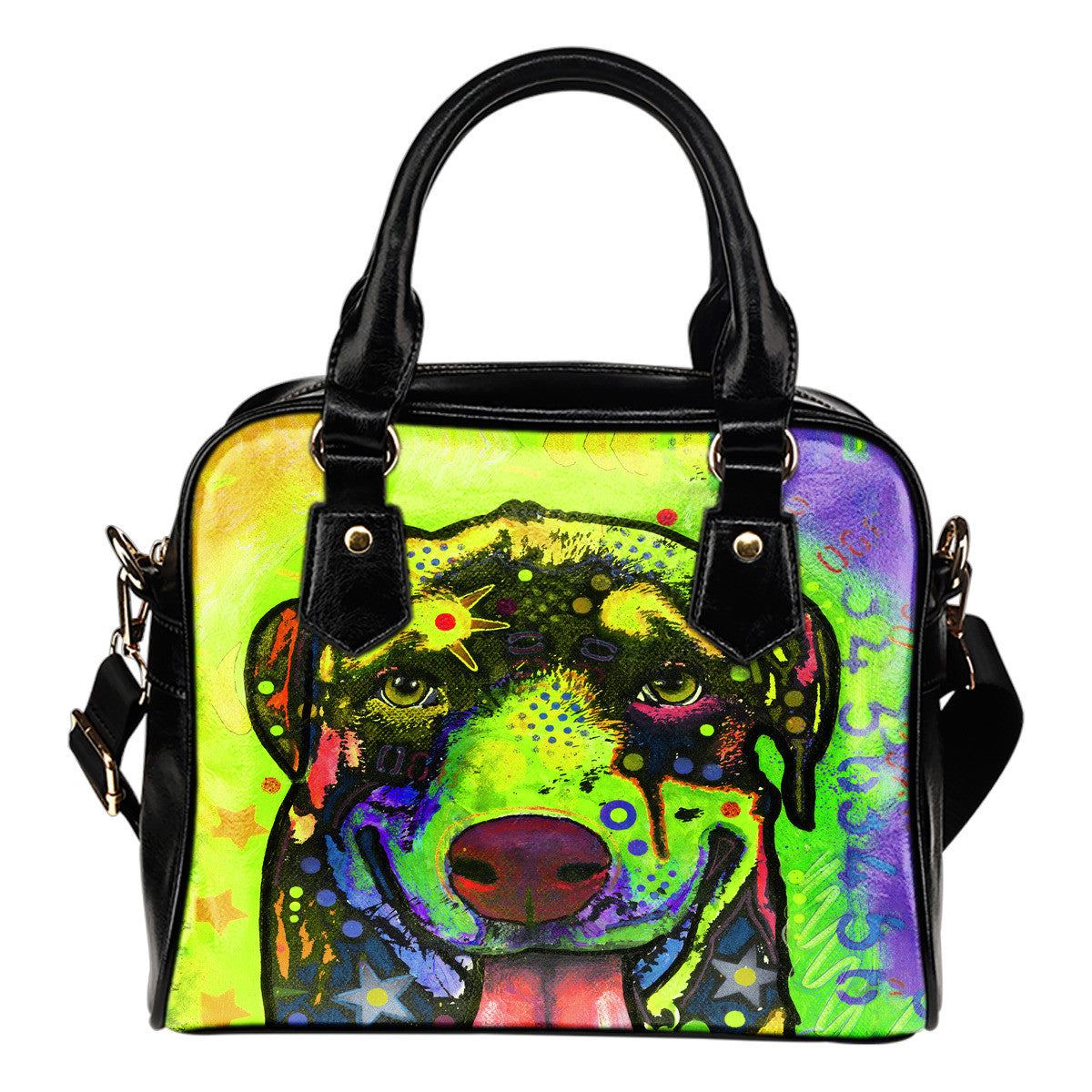 Rottweiler Shoulder Handbags #2