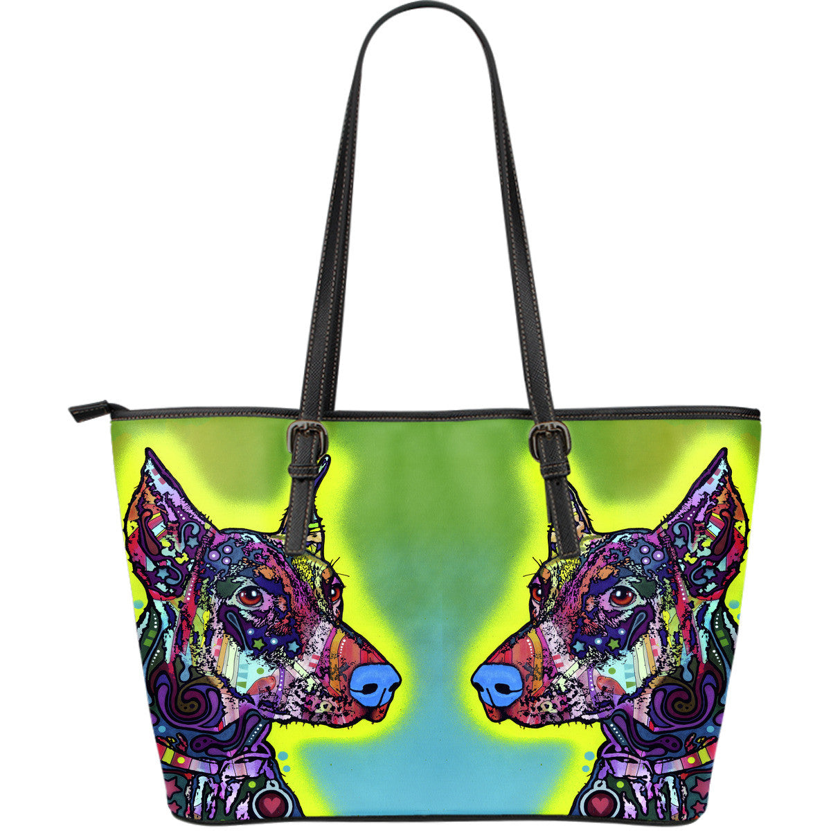 Doberman Leather Totes (Large)