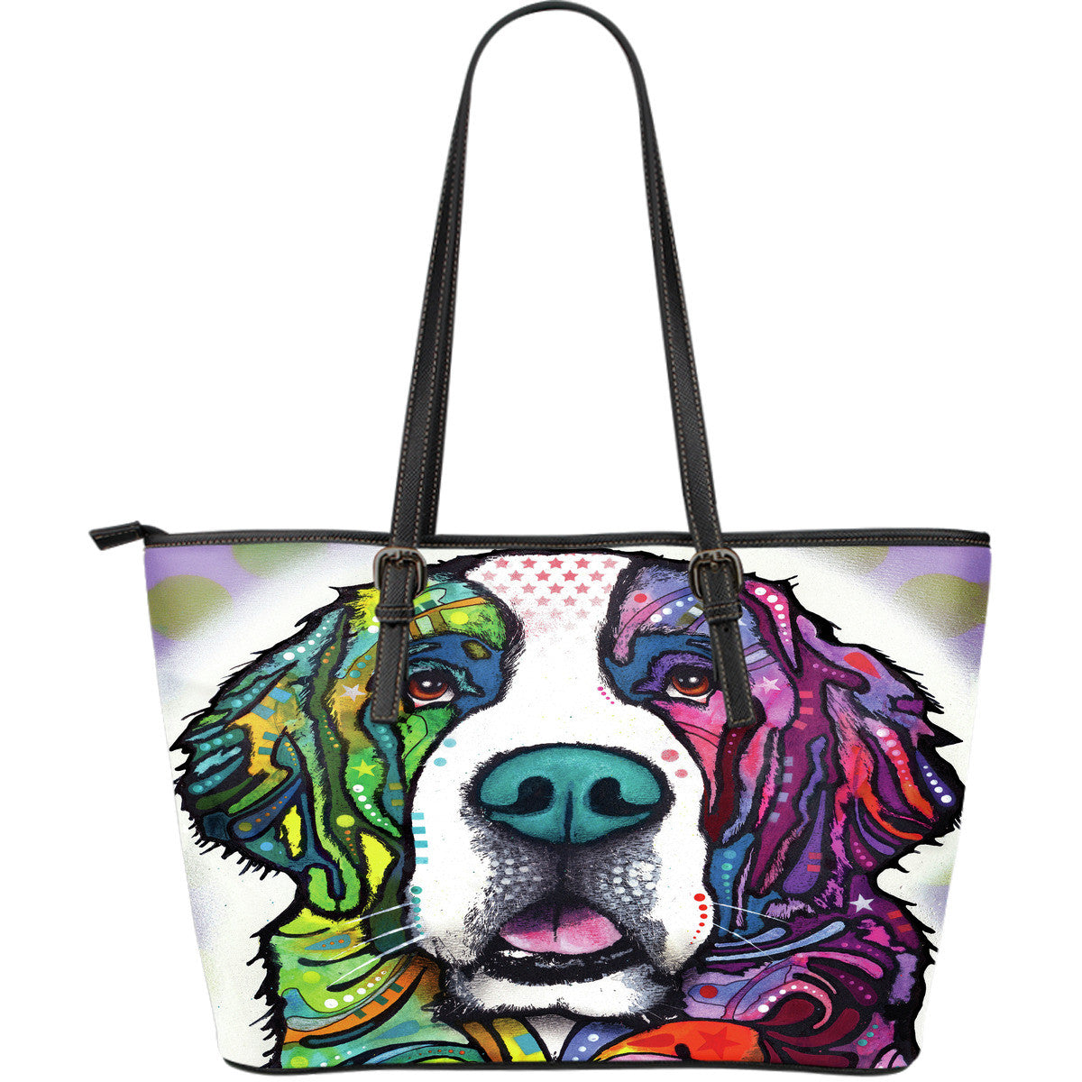St. Bernard Leather Tote Bags (Large)